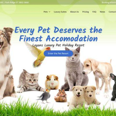 WordPress Site for Pet Accomidation